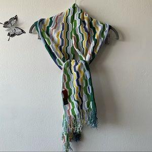 Missoni Viscous/Cotton Colourful scarf